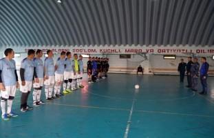 """Andijon viloyati IIB YHXB shaxsiy tarkibi o'rtasida sportning """"Mini-futbol"""" turi bo'yicha …"""