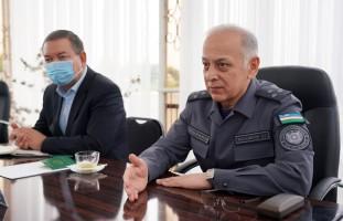 IIV Migratsiya va fuqarolikni rasmiylashtirish bosh boshqarmasi boshlig'i Andijonda sayyor…